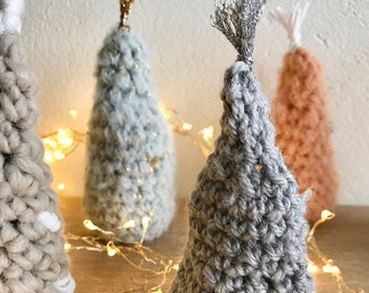 Tiny Forest · Intermediate Level Crochet Pattern Booklet · Instant PDF Download · Emmaknitty