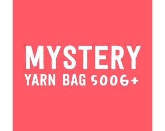 Mystery Yarn Bag · 500g+ of Luxury and Branded Yarn · Yarn Destash · Crocheters, Knitters & Yarn Crafts · Craft Blind Bag
