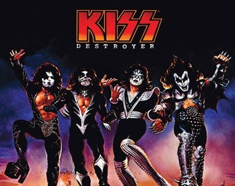 Kiss Destroyer Etsy
