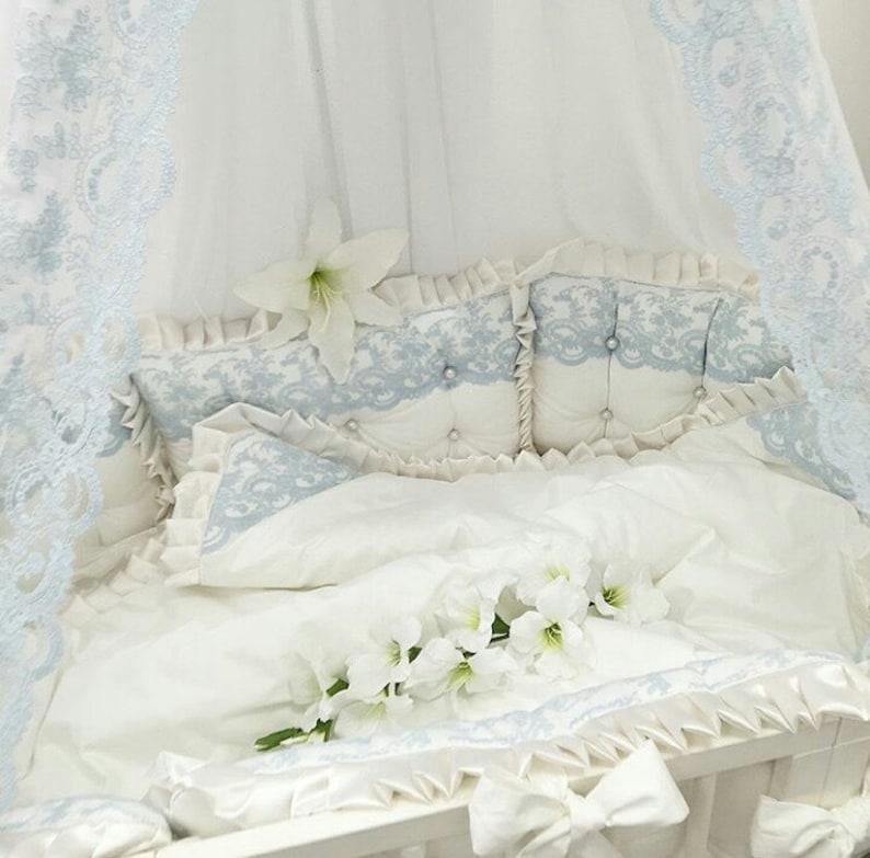 Set Kinderbett Stoßstange Baby Bettwäsche Set Baby Junge Etsy