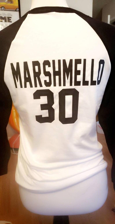 raglan marshmello tee dj marshmello dab shirt unisex dj marshmello marshmello dab shirt Adult marshmello shirt maeshmello baseball tee