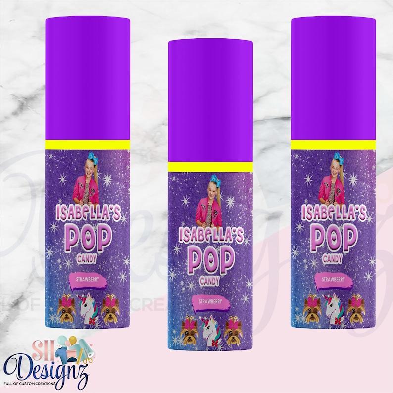 Jojo Siwa Birthday Candy Jojo Siwa Birthday Party Candy Jojo Siwa Favors PP Jojo Siwa Theme Treats