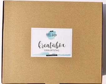 Bastelset Meerjungfrau Kindergeburtstag Bastelbox, Kreativset, DIY Set