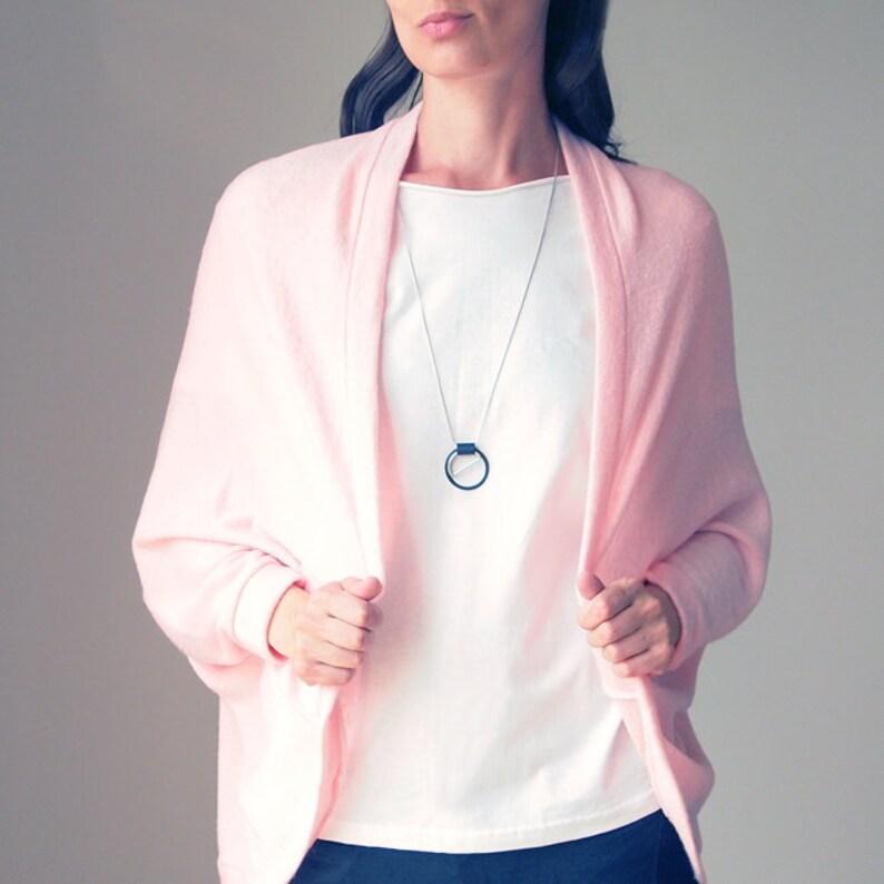 ff35fa92554203 Wdzianko Jasno Różowe Sweter Bluza Bluza Damska Oversize | Etsy