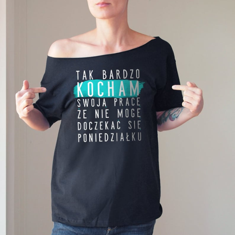 4857aca9e I Love My Work Oversize Tshirt Sarcasm Funny Tshirt Slouchy   Etsy