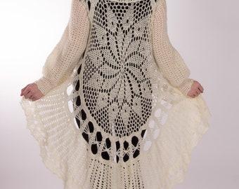 Handmade Wheel Sweater