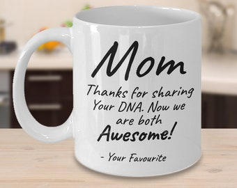 Mom Gifts Funny Coffee Mug Birthday Gift For From Son Or Daughter Ideas Mother Thank You