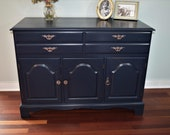 Sold, but similar piece available to finish-Vintage Buffet