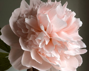 Paper peonies etsy crepe paper bomb peony paper flowers for home decor or weddings mightylinksfo