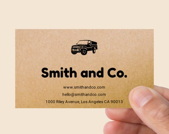 Recycled Paper Business Cards Etsy