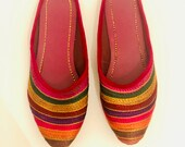 Women belly shoes - women Footwear -Handmade Traditional Indian Party wear Shoes -Women shoes size 38