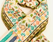 Pashmina Silk Scarf Wrap shawl - Handwoven  soft pashmina wool stole/shawl Paschmina schal
