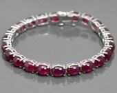 Silberarmband, Women Silver Bracelet, Frauen schmuck Tennis Armband, Amethyst Silber bracelet Geschenk für Sie