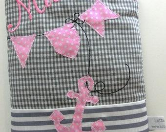 Ahoy anchor grain Pillow Heat Pillow spelt name