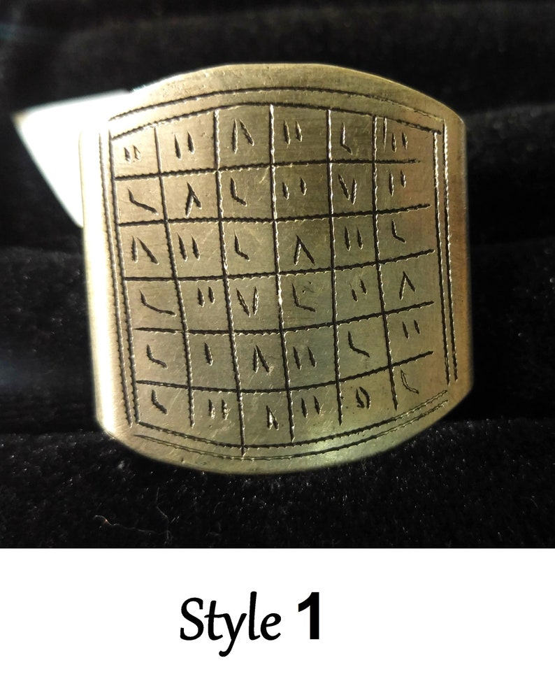 African voodoo ring witchcraft amulet protection talisman authentic