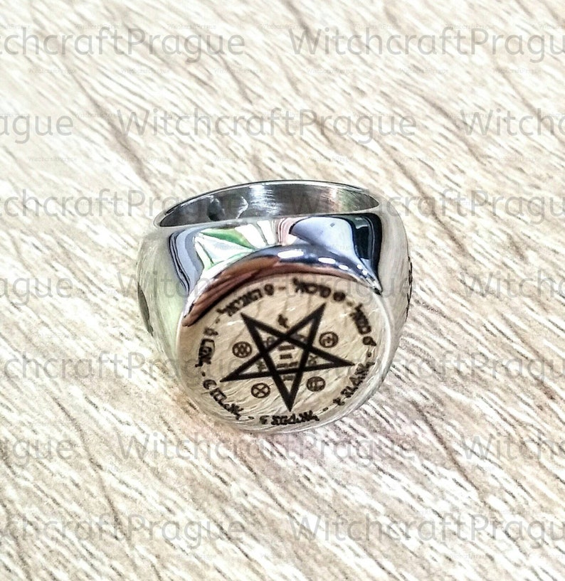 Your own custom Alchemy seal ring amulet witchcraft talisman