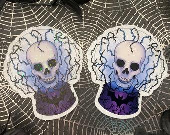 Spooky Crystal Ball Sticker