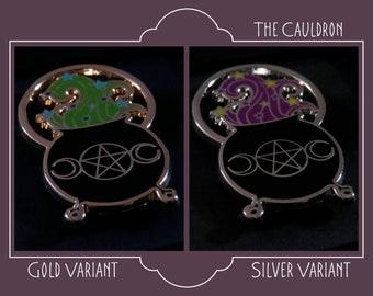 The Cauldron Enamel Pin