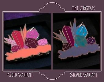 The Crystals Enamel Pin