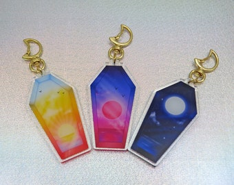 Sky Coffin Charms