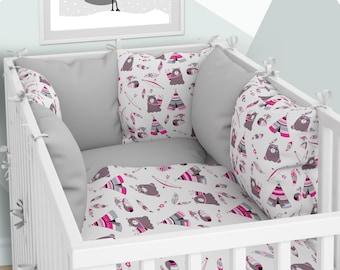 Kissen-Nestchen Sechs Kissen mit Bezügen 70x140
