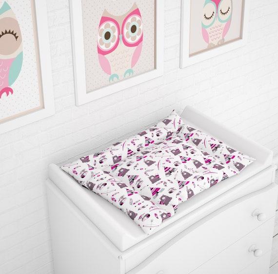 75x70 cm Baby Wickelauflage mit Stickerei A