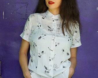 Funny cat shirt - Alternative clothing