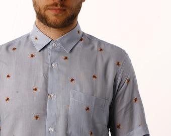 Men's button-up shirt - Men's dress shirt - Alternative clothing