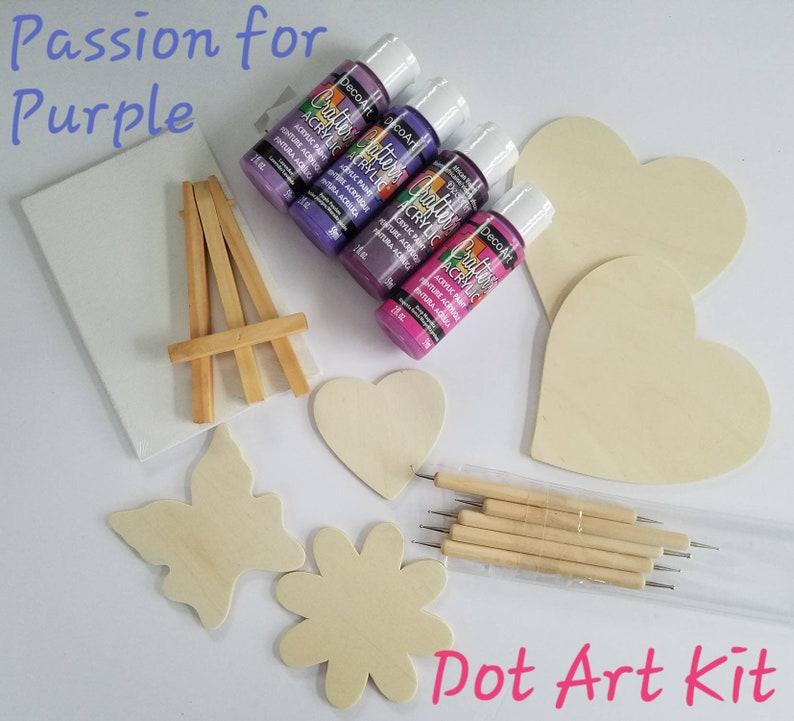 15pc Diy Painting Kit Angled Dot Stylus Dotting Supplies Etsy
