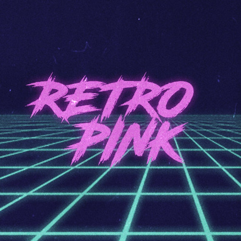 Retro Pink Package (Twitch Overlays, Cam, Panels, Intermission, Starting &  Ending Screens)