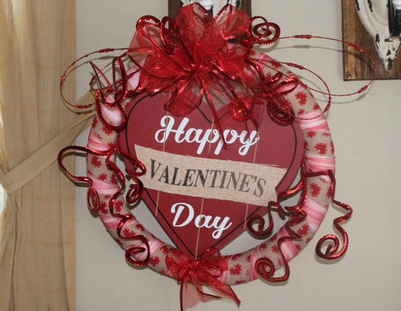 Heart Unique Gifts for Valentines Day Feb 14th Valentine Hanger Valentine Decor Happy Valentines Day Valentine Love I love You