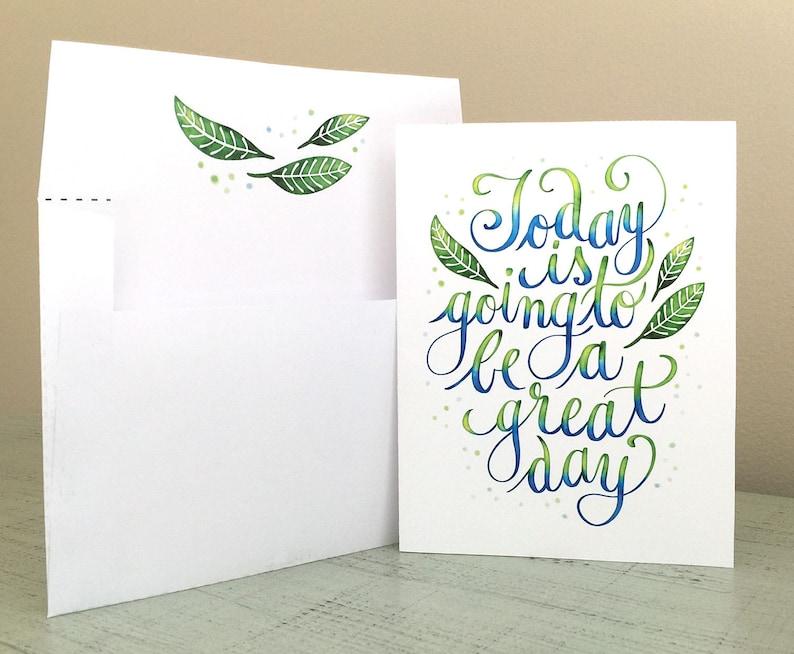 Birthday Card Inspiring Positive Message Digital