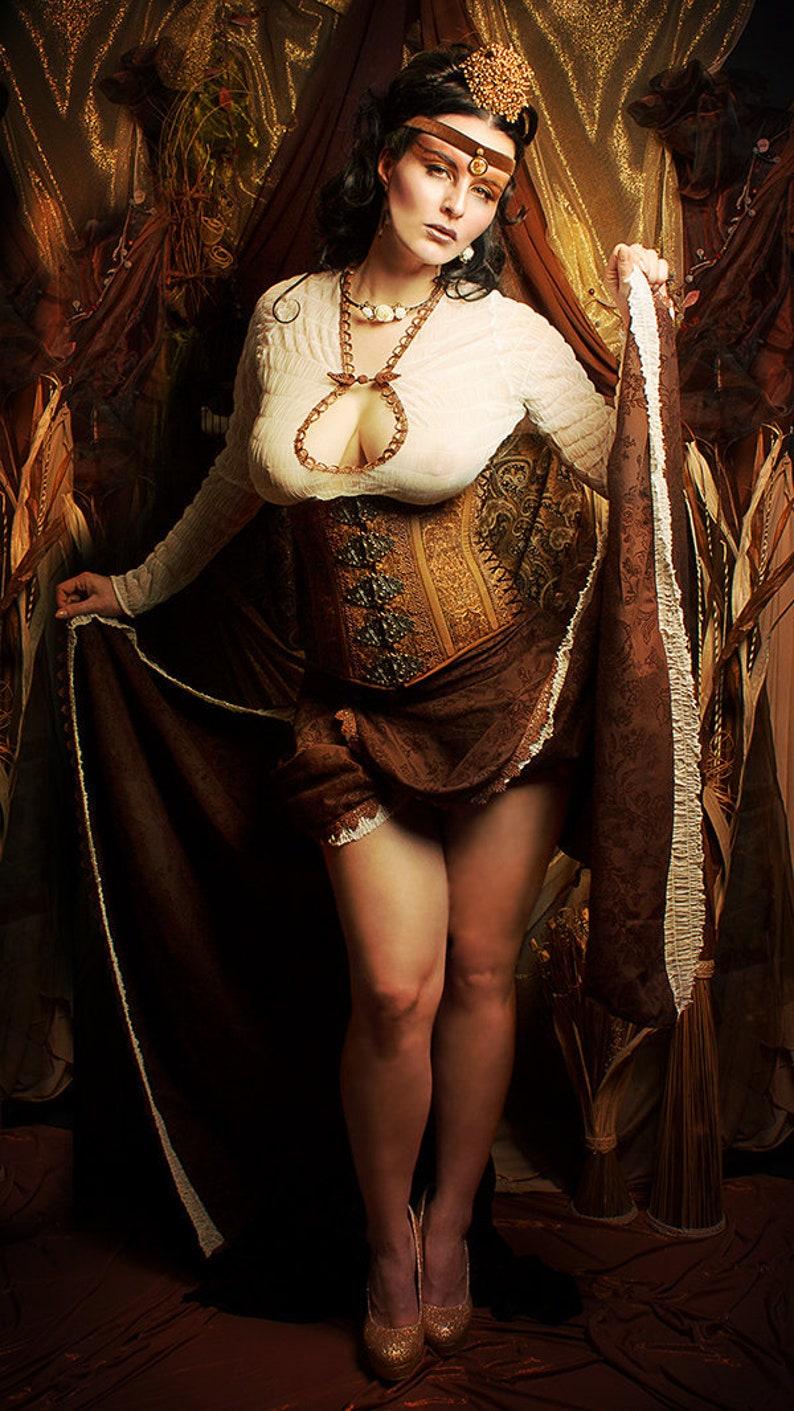 O Dress Salome with corset dress of O fetish fetish image 1