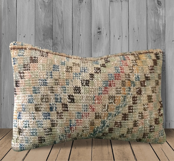 Swell Green Blue Pink Rug Kilim Pillow Cover 16X24 Bohemian Couch Pillows Sofa Throw Pillows Boho Decor Textured Carpet Pillow Cushion Cover Pdpeps Interior Chair Design Pdpepsorg