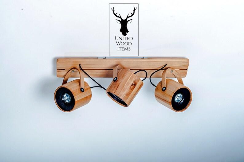 Lampada a sospensione in legno legno in legno soffitto in etsy