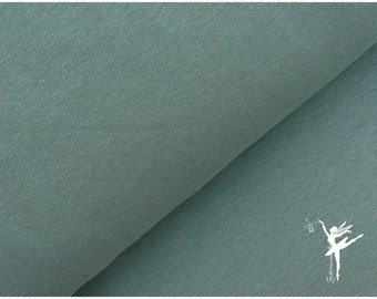 Jersey Panel Hase rauchmint