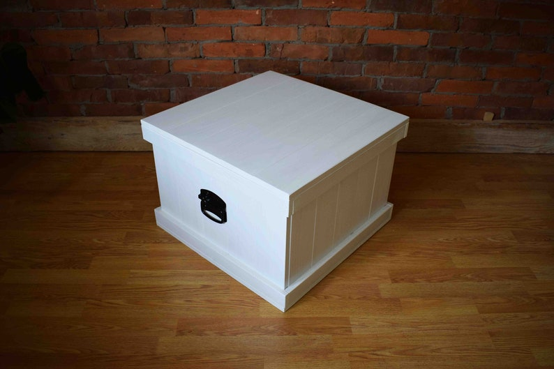 Coffee Table Toy Chest.Wooden Trunk Chest Bench Coffee Table Toy Box Large Trunk Trunk Coffee Table Chest Table Blanket Chest White