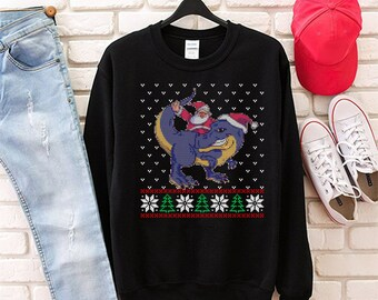 Dino Sweater Etsy