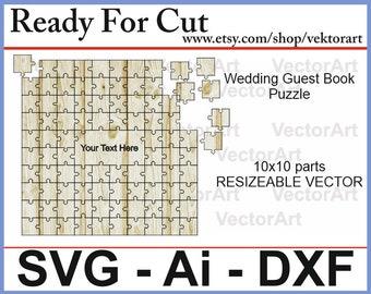 Laser cut puzzle   Etsy