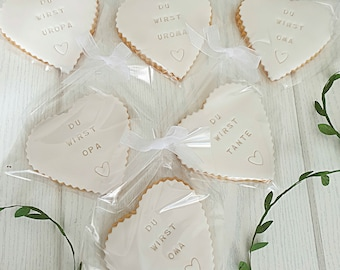 personalized cookies wedding baptism engagement reopening