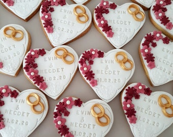 Biscuits Favors Wedding Engagement Anniversary