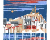 Marseille - Digital printing
