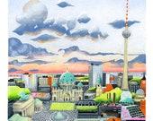 Berlin - Digital printing