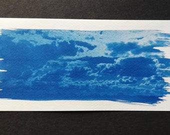 Postcard sky over Brandenburg