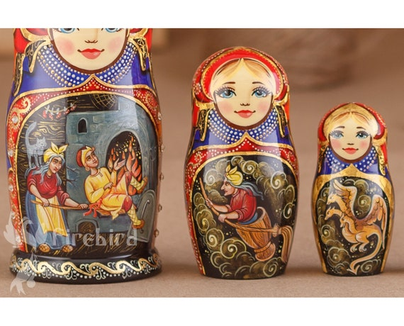 Matryoshka Dutch Nederlands National Costume Russian Nesting Dolls Babushka 5 Pc