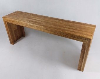 Bench wooden bench oak solid wood brushed cloakroom bench hallway bench