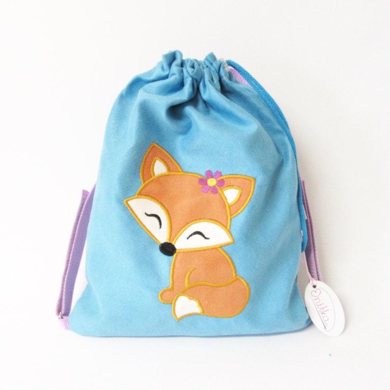 5b081e239a5f3 Plecak z Liskiem worek z lisem plecak przedszkolaka plecak