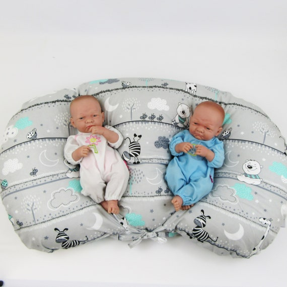 Italia Twin Feeding Nursing Pillow Cushion for Complete Support