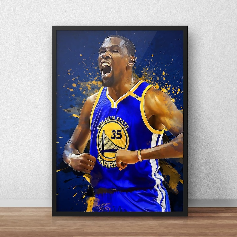1f663eed9 Kevin Durant Poster Golden State Warriors