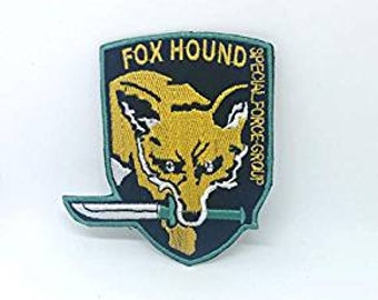 Apparel Sewing & Fabric Home & Garden 1 Pc Mgs Metal Gear Solid Snake Badges To Let The World Be Morale Tactics 3d Pvc Badge